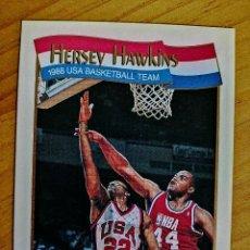 Coleccionismo deportivo: NBA - HOOPS - AÑO 1991 - BALONCESTO, CROMO NUEVO NÚMERO 569 - HERSEY HAWKINS. Lote 235333210