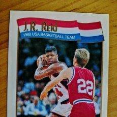 Coleccionismo deportivo: NBA - HOOPS - AÑO 1991 - BALONCESTO, CROMO NUEVO NÚMERO 572 - J.R. REIJ. Lote 235336225