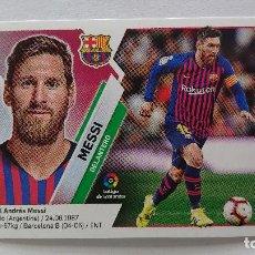 Coleccionismo deportivo: LIGA ESTE 2019 2020 MESSI Nº 14 ESTE 19 20 MESSI NUNCA PEGADO. Lote 235364925