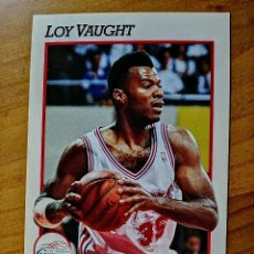 Coleccionismo deportivo: NBA - HOOPS - AÑO 1991 - BALONCESTO, CROMO NUEVO NÚMERO 381 - LOY VAUGHT. Lote 235851595