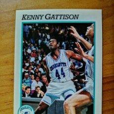 Coleccionismo deportivo: NBA - HOOPS - AÑO 1991 - BALONCESTO, CROMO NUEVO NÚMERO 343 - KENNY GATTISON. Lote 235851735