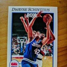 Coleccionismo deportivo: NBA - HOOPS - AÑO 1991 - BALONCESTO, CROMO NUEVO NÚMERO 430 - DWAYNE SCHINTZIUS. Lote 235853490
