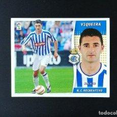 Coleccionismo deportivo: REC VIQUEIRA RC RECREATIVO 2006 2007 EDICIONES ESTE 06 07 LIGA SIN PEGAR NUNCA PANINI. Lote 236069010