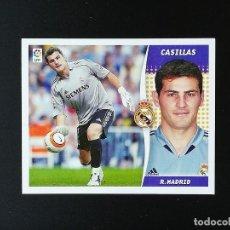 Coleccionismo deportivo: RMA CASILLAS REAL MADRID 2006 2007 EDICIONES ESTE 06 07 LIGA SIN PEGAR NUNCA PANINI. Lote 236069165