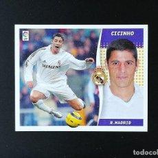 Coleccionismo deportivo: RMA CICINHO REAL MADRID 2006 2007 EDICIONES ESTE 06 07 LIGA SIN PEGAR NUNCA PANINI. Lote 236069355