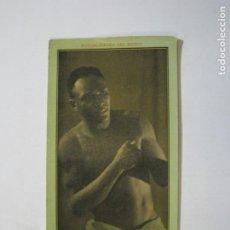 Coleccionismo deportivo: AL BAKER-NOTABILIDADES DEL BOXEO-CHOCOLATES JUNCOSA-DRAGON JAPONES-CROMO DE BOXEO-VER FOTOS-(76.980). Lote 236254380