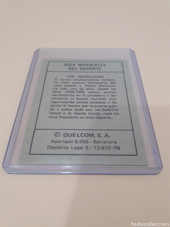 Coleccionismo deportivo: 1979. ROCKY MARCIANO. N° 134. QUELCOM SIN PEGAR - Foto 2 - 236370700