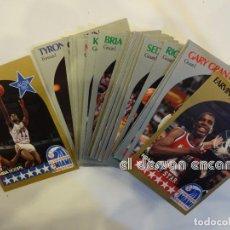 Coleccionismo deportivo: LOTE 30 CROMOS CARDS DIFERENTES NBA HOOPS. TEMPORADA 1990-1991. RECIÉN SALIDOS DEL SOBRE. Lote 237523060