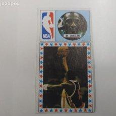 Coleccionismo deportivo: CROMO MICHAEL JORDAN CHICAGO BULLS ROOKIE CARD BALONCESTO 1986 1987 CONVERSE NBA MERCHANTE. Lote 244200935