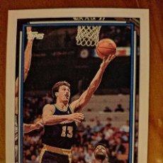 Coleccionismo deportivo: BALONCESTO - NBA - TOPPS - AÑO 1993 - NÚMERO 357 - SARUNAS MARCIULIONIS. Lote 244773405