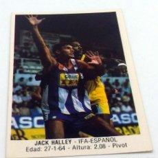 Coleccionismo deportivo: CROMO BALONCESTO CONVERSE JACK HALLEY- IFA.ESPAÑOL Nº 70. Lote 246923005