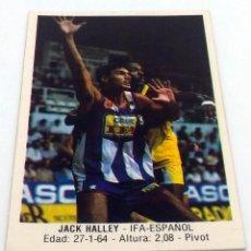 Coleccionismo deportivo: CROMO BALONCESTO CONVERSE JACK HALLEY- IFA.ESPAÑOL Nº 70. Lote 246923190
