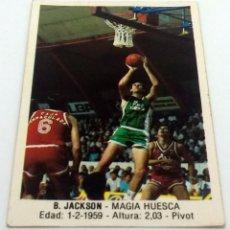 Coleccionismo deportivo: CROMO BALONCESTO CONVERSE B. JACKSON-MAGIA HUESCA- Nº 82. Lote 246987000