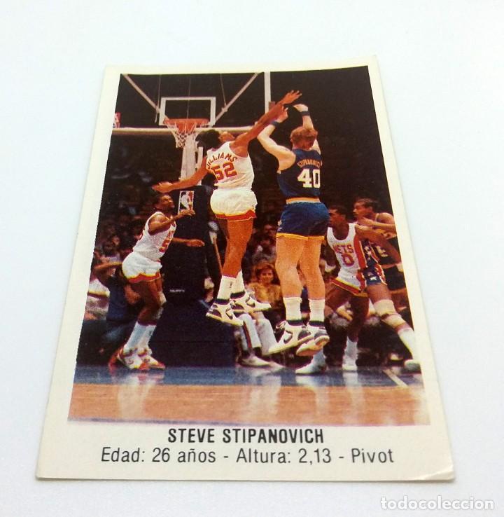 CROMO BALONCESTO CONVERSE - STEVE STIPANOVICH-Nº170 (Coleccionismo Deportivo - Cromos otros Deportes)
