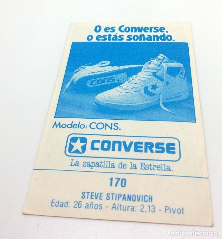 Coleccionismo deportivo: CROMO BALONCESTO CONVERSE - STEVE STIPANOVICH-Nº170 - Foto 2 - 247000665