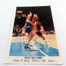Coleccionismo deportivo: CROMO BALONCESTO CONVERSE - BUCK WILLIAMS-Nº167. Lote 247002095