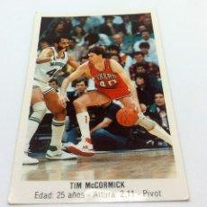 Coleccionismo deportivo: CROMO BALONCESTO CONVERSE - TIM MCCORMICK-Nº162. Lote 247002655