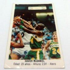 Coleccionismo deportivo: CROMO BALONCESTO CONVERSE - XAVIER MCDANIEL -Nº153. Lote 247003860