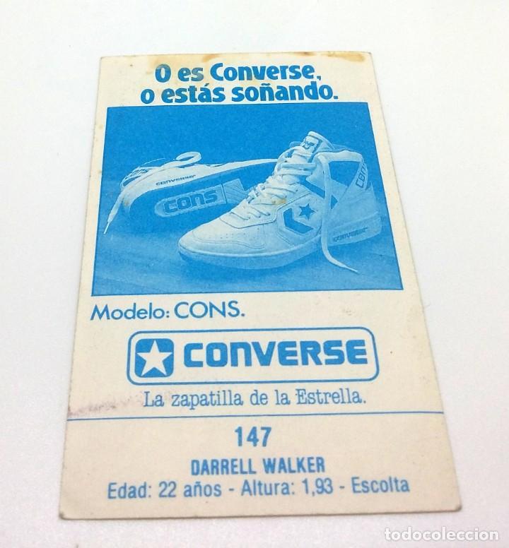 Coleccionismo deportivo: CROMO BALONCESTO CONVERSE - DARRELL WALKER -Nº147 - Foto 2 - 247004115