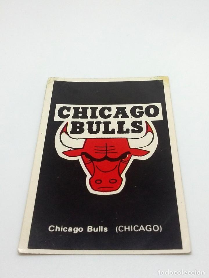 CROMO BALONCESTO CONVERSE - ESCUDO- CHICAGO BULLS (CHICAGO) Nº180 (Coleccionismo Deportivo - Cromos otros Deportes)