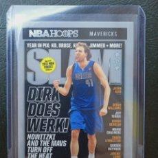 Coleccionismo deportivo: DIRK NOWITZKI SLAM Nº 12 PANINI NBA HOOPS 2020 2021 DALLAS MAVERICKS. Lote 248016210