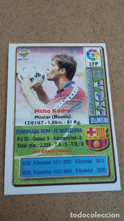 Coleccionismo deportivo: MUNDICROMO 96 97 1996 1997 - 53 KODRO ( BAJA ) - FC. BARCELONA 497 - Foto 2 - 251036350