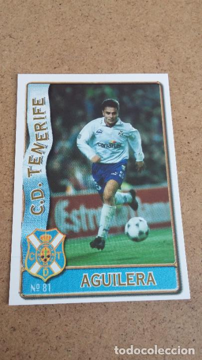 MUNDICROMO 96 97 1996 1997 - 81 AGUILERA ( BAJA ) - C.D. TENERIFE 498 (Coleccionismo Deportivo - Cromos otros Deportes)