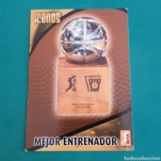 Collezionismo sportivo: (49.10) CROMO PANINI - ACB 2008-2009 - ICONOS - N°313 MEJIR ENTRENADOR. Lote 252483460