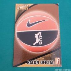 Collezionismo sportivo: (49.10) CROMO PANINI - ACB 2008-2009 - ICONOS - N°308 BALON OFICIAL. Lote 252483720