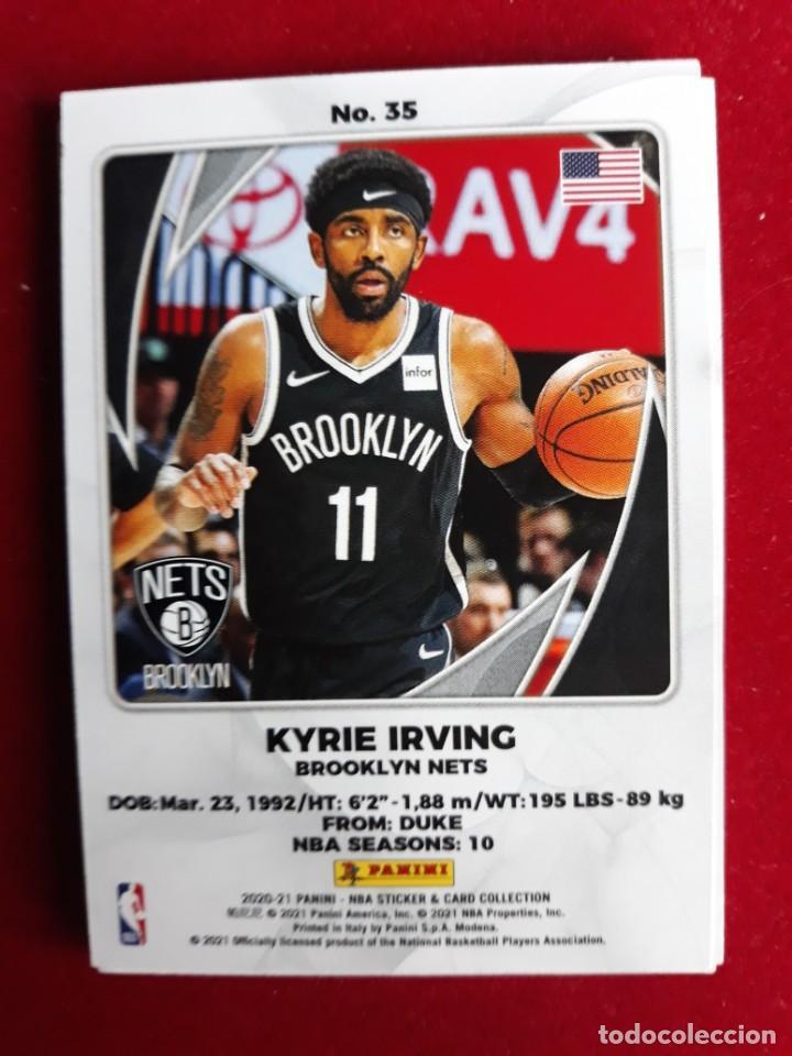 NBA 2020 - 2021 PANINI CARD Nº 35 IRVING (Coleccionismo Deportivo - Cromos otros Deportes)