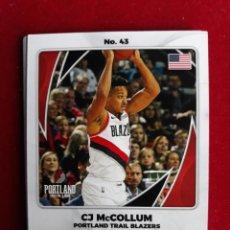 Coleccionismo deportivo: NBA 2020 - 2021 PANINI CARD Nº 43 MCCOLLUM. Lote 254979010