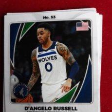 Coleccionismo deportivo: NBA 2020 - 2021 PANINI CARD Nº 53 RUSSELL. Lote 254979250