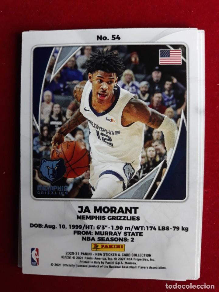 NBA 2020 - 2021 PANINI CARD Nº 54 MORANT (Coleccionismo Deportivo - Cromos otros Deportes)