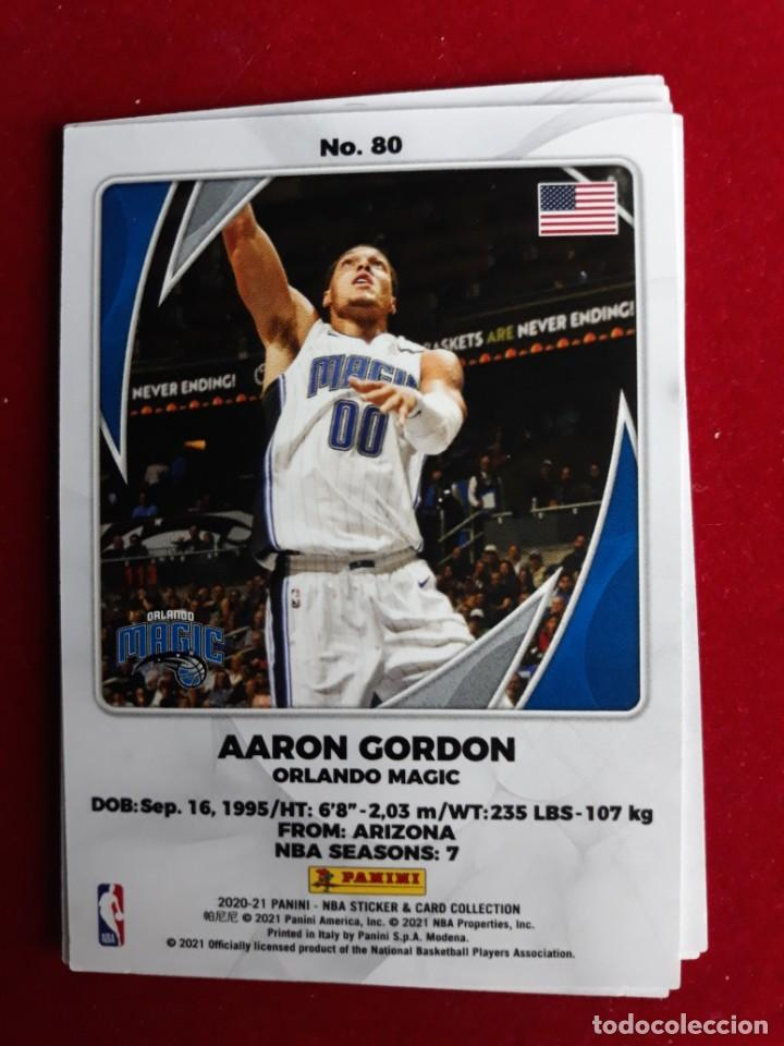 NBA 2020 - 2021 PANINI CARD Nº 80 GORDON (Coleccionismo Deportivo - Cromos otros Deportes)
