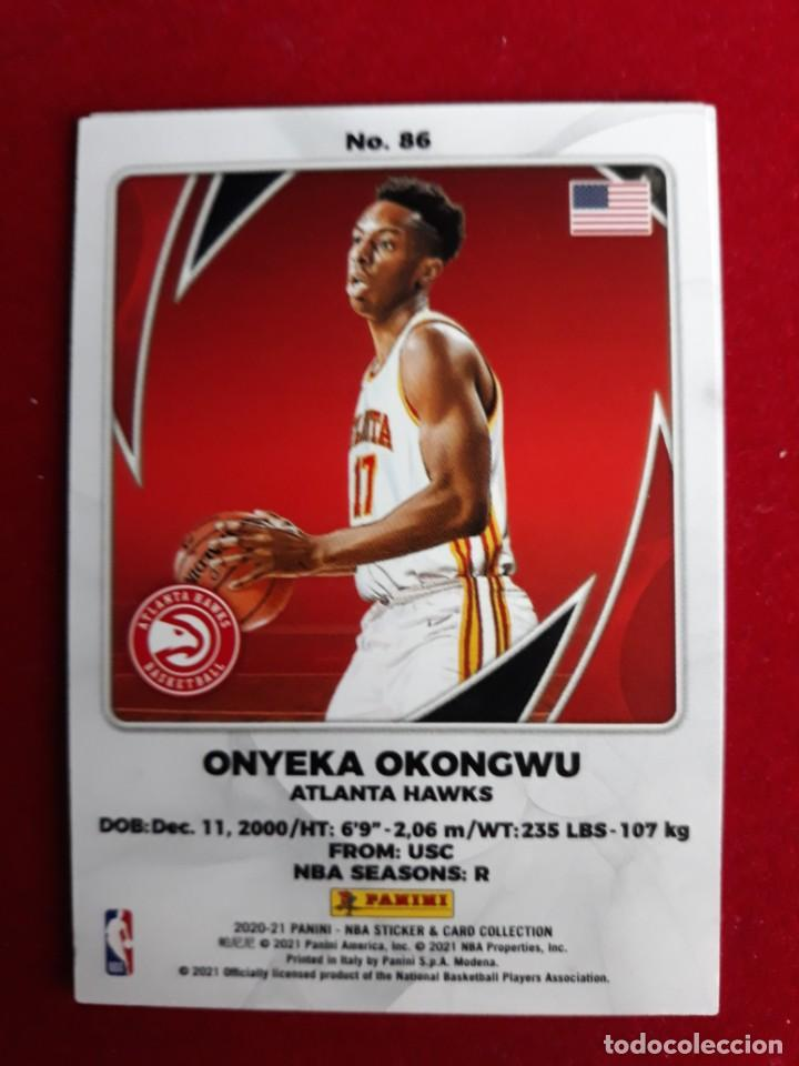 NBA 2020 - 2021 PANINI CARD Nº 86 OKONGWU (Coleccionismo Deportivo - Cromos otros Deportes)