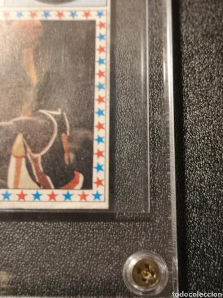 Coleccionismo deportivo: MICHAEL JORDAN CHICAGO BULLS ROOKIE CARD BALONCESTO 1986-1987 CONVERSE NBA MERCHANTE N. 163. - Foto 3 - 254992055