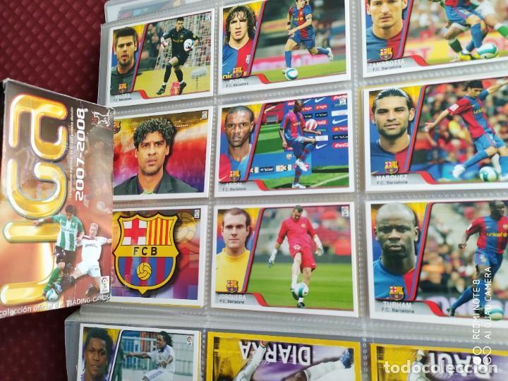 Coleccionismo deportivo: CAJA SIN ABRIR 50 SOBRES LIGA 2007-2008 CON MESSI, EDICIONES ESTADIO - Foto 2 - 255009925