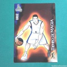 Coleccionismo deportivo: (51.7) CROMO PANINI - ACB 2008-2009 - (BRUESA GBC) - N°318 URIZ / TIEMPO DE MAGIA. Lote 255425395