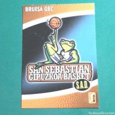 Coleccionismo deportivo: (51.7) CROMO PANINI - ACB 2008-2009 - (BRUESA GBC) - N°19 ESCUDO. Lote 255425675