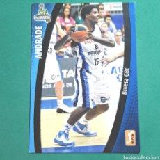 Coleccionismo deportivo: (51.7) CROMO PANINI - ACB 2008-2009 - (BRUESA GBC) - N°27 ANDRADE. Lote 255426325