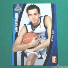 Coleccionismo deportivo: (51.7) CROMO PANINI - ACB 2008-2009 - (BRUESA GBC) - N°29 SAN EPIFANIO. Lote 255426690