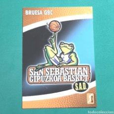Coleccionismo deportivo: (51.7) CROMO PANINI - ACB 2008-2009 - (BRUESA GBC) - N°19 ESCUDO. Lote 255427445