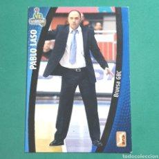 Coleccionismo deportivo: (51.7) CROMO PANINI - ACB 2008-2009 - (BRUESA GBC) - N°21 PABLO LASO. Lote 255427635