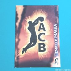 Coleccionismo deportivo: (51.7) CROMO PANINI - ACB 2008-2009 - N°316 TIEMPO DE MAGIA. Lote 255428165