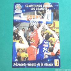 Coleccionismo deportivo: (51.7) CROMO PANINI - ACB 2008-2009 - (CB GRANADA) - N°90 MOMENTO MÁGICO. Lote 255428400