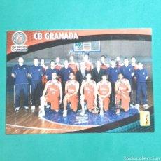 Coleccionismo deportivo: (51.7) CROMO PANINI - ACB 2008-2009 - (CB GRANADA) - N°74 PLANTILLA. Lote 255428540