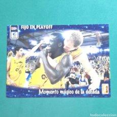 Coleccionismo deportivo: (51.7) CROMO PANINI - ACB 2008-2009 - (KALISE GRAN CANARIA) - N°162 MOMENTO MÁGICO. Lote 255429780