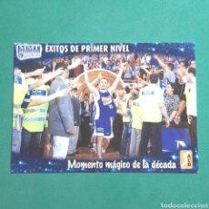 Coleccionismo deportivo: (51.7) CROMO PANINI - ACB 2008-2009 - (MMT SEGUROS ESTUDIANTES) - N°180 MOMENTO MÁGICO. Lote 255430165