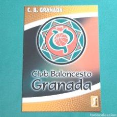 Coleccionismo deportivo: (51.7) CROMO PANINI - ACB 2008-2009 - (CB GRANADA) - N°73 ESCUDO. Lote 255431145