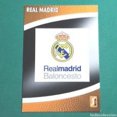 Coleccionismo deportivo: (51.7) CROMO PANINI - ACB 2008-2009 - (REAL MADRID) - N°199 ESCUDO. Lote 255431275